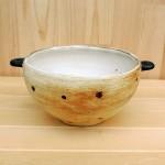 温もりのある土の質感が素敵なスープカップ☆