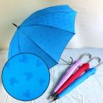 雨に濡れるとミッキー柄が浮き出る傘☆