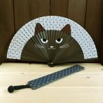 人気の猫の扇子セット追加しました!