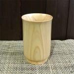 天然木ひのきにウレタン塗装を施したフリーカップ☆