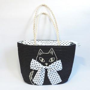 夏素材の猫バッグ★