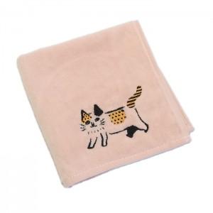 刺繍柄が可愛らしい手触りのよいタオルハンカチ2柄追加しました★
